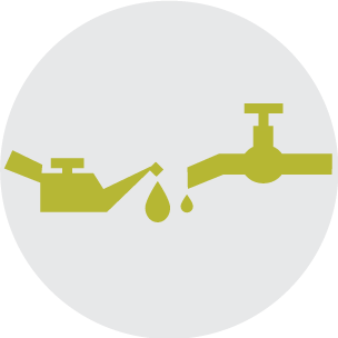 Water Shutoff Icon